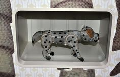 """""""the very biggest spotty dog you ever did see"""", I loved this dog and his funny walk"""