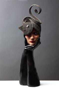 """""""Erté"""" di Capplé - pièce unique - Museo della Moda e delle Arti Applicate di Gorizia - www.capple.it"""