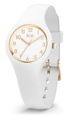 c223027b5496d Ice-Watch ICE Glam White Gold 30 mm wit-goudkleurig IW015341