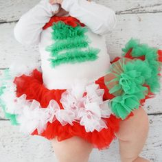 Girls Christmas Dress- Baby Christmas Dress- - Christmas Pettiskirt Dress- Christmas Girls Dress- dress - Holiday Outfits - Christmas Outfit
