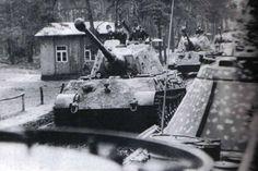 Kurt Knispel and his PzKpfw VI Ausf. B Tiger II