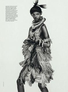 #MarinaNery by #SebastianKim for #VogueAustralia April 2014