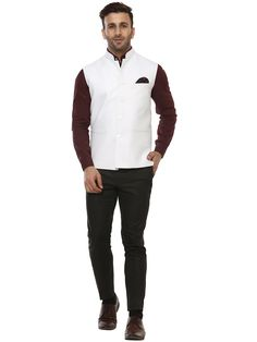 Buy Lee Marc White Magic Nehru Jacket Online at Low prices in India on Winsant, India fastest online shopping website. Shop Online for Lee Marc White Magic Nehru Jacket only at Winsant.com. COD facility available.