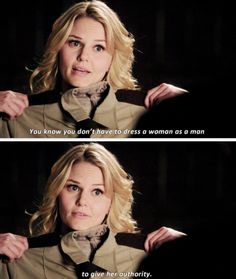 Tell em Emma! Ouat, Once Upon A Time, Regina And Emma, It Crowd, Swan Queen, Addicted Series, Don't Blink, Jennifer Morrison, Believe In Magic