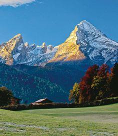 Der Watzmann: Bergsteiger Magazin kürt schönsten Berg der Welt