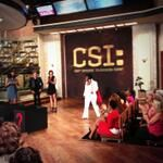 "Elvis is in the building on #TheTalk with the cast of ""CSI!"""