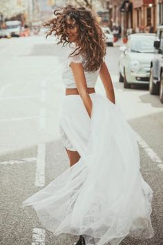 Two Piece Wedding Dresses. Make sure you check out this epic selection of 30+ gorgeous two-piece wedding dress separates out before you decide on your two piece gown: http://www.confettidaydreams.com/two-piece-wedding-dress-bridal-separates/ via @confettidaydreams