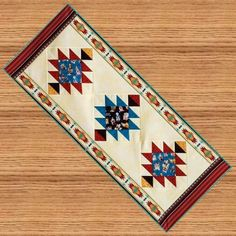 SOUTHWEST Table Runner Pattern  B J Q 120  by Beejoyfulquilts, $7.50