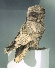 Anne-Lise Koehler, Nature, sculptures ... and cinema: Owls - Owls