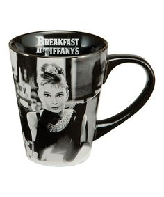 Look at this #zulilyfind! Audrey Hepburn Mug by Audrey Hepburn #zulilyfinds