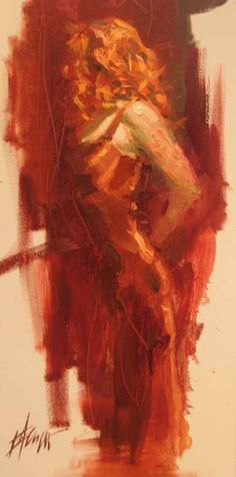 Scarlet Dream- Henry Asencio  I like the shades of red.
