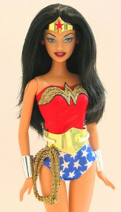 Wonder Woman Barbie by prettybrbphoto, via Flickr