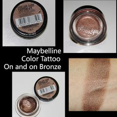MichelaIsMyName: Maybelline Color Tattoo On and on Bronze REVIEW