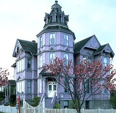 A purple home?  Have I died and gone to heaven?
