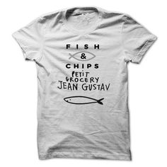 Fish and Chips T Shirts, Hoodies. Get it here ==► https://www.sunfrog.com/Fishing/Fish-amp-Chips.html?57074 $22
