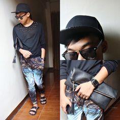 Sm Accessories Salavatore Mann Clutch Bag Outfit Posts, My Outfit, Fashion Bags, Men's Fashion, Clutch Bag, My Style, Accessories, Outfits, Black