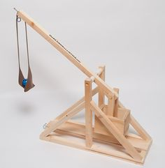 New In The Maker Shed: Trebuchet Kit