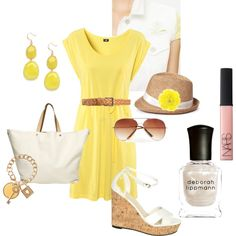Walkiing on Sunshine, created by renebross on Polyvore