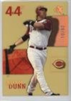 Brought to you by Avarsha.com: <div><div>2003 EX Essential Credentials Future #21 - Adam Dunn</div><ul><li>Serial #10/82</li><li>Sport: Baseball</li><li>Great for any Adam Dunn fan</li><li>This is a collectible trading card.</li></ul><div>Serial #10/82</div></div>