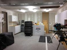 LED garage lighting placement ideas