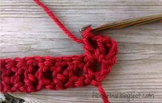 How To Crochet the Pavement Infinity Scarf (stitch by stitch)