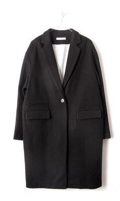 Sessun manteau Harry black------#sessun #harry #manteau #coat #black #noir #wool #laine