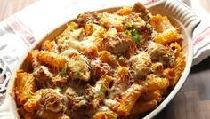 Chicken Parm Rigatoni Bake Tastes So Good You Won't Care It's Not Truly ItalianDelish Chicken Parmesan Recipes, Yummy Chicken Recipes, Lunch Recipes, Cooking Recipes, Healthy Recipes, Pasta Dishes, Food Dishes, Rigatoni Recipes, Italian Recipes