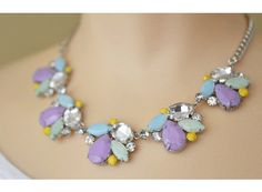 Pastel Mosaic Necklace