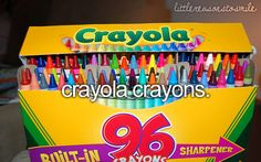crayons!...I refuse to use rose-art..I am a crayola kind of girl :D FOREVER