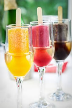 Popsicles!!!! on Pinterest | Plain Greek Yogurt, Popsicles and Ice ...