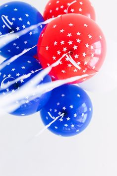 DIY star balloons