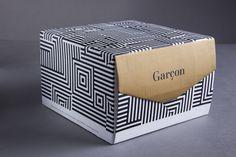 Bistro Garçon - Branding by Brownfox Studio, via Behance