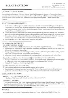 sample military resume template download microsoft example