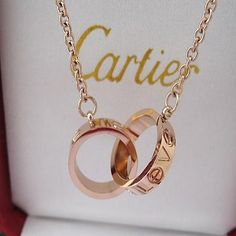 Cartier love necklace , . . i want it so badly!!!! in loveeee!!