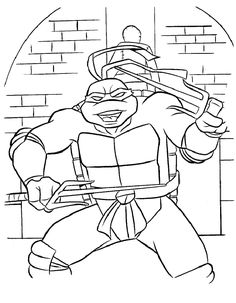teenage mutant ninja turtle coloring page | magical minds ... - Ninja Turtle Pizza Coloring Pages