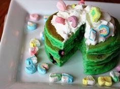 Lucky Charms Pancakes - Betty Crocker
