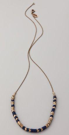 Club Monaco Sasha Snake Bead Necklace