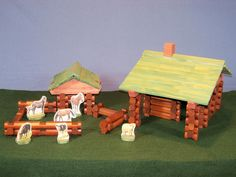 DIY Lincoln Logs, what more could you ask for? Half the price of many of the boxes that I have seen lately and you can build more than you'll really ever need.