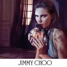 Catherine McNeil stars in Jimmy Choo fragrance campaign