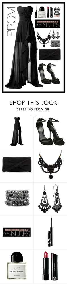 """Prom Queen"" by stella-patricia ❤ liked on Polyvore featuring Gucci, Reiss, 1928, Charlotte Russe, Byredo, Bare Escentuals and Sisley"