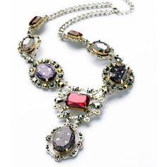 Amazon.com: ZMJ Vintage Necklace Crystal Y-Necklace Fashion Jewelry (J-SN83): Clothing