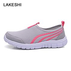 LAKESHI Shoes Summer Women Sandals Fashion Flats Casual Female Shoes Breathable Mesh Sneakers. Yesterday's price: US $28.23 (23.37 EUR). Today's price: US $8.47 (7.01 EUR). Discount: 70%.