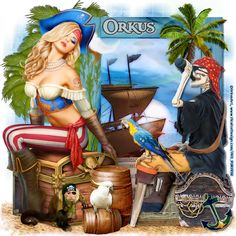 "MI RINCÓN GÓTICO: CT ORKUS ART, ""My Treasure"""