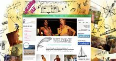 Vagabond Van Website on Behance