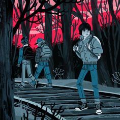 Stranger Things: Sara Kipin's Illustration Blog