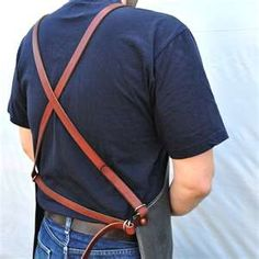 mens vintage leather - aprons