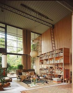 Ray and Charles Eames home in LA