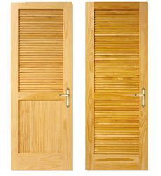 Lemieux Doors Traditional Louvered