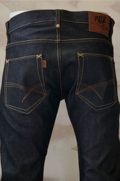 Pace Selvage Denim Jeans Regular Dry Straight Fit
