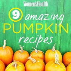 Pumpkin Recipes for Fall | Women's Health Magazine